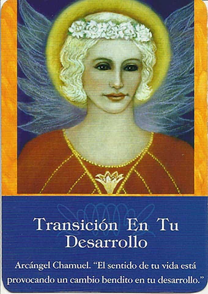 Transición en tu desarrollo con el Arcángel Chamuel