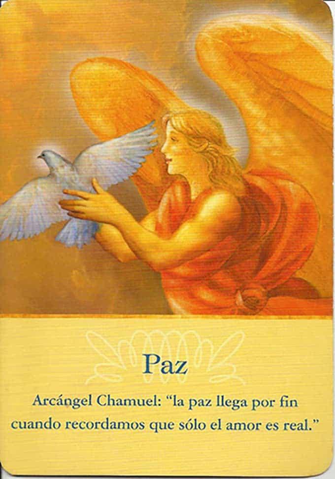 La paz del arcángel Chamuel