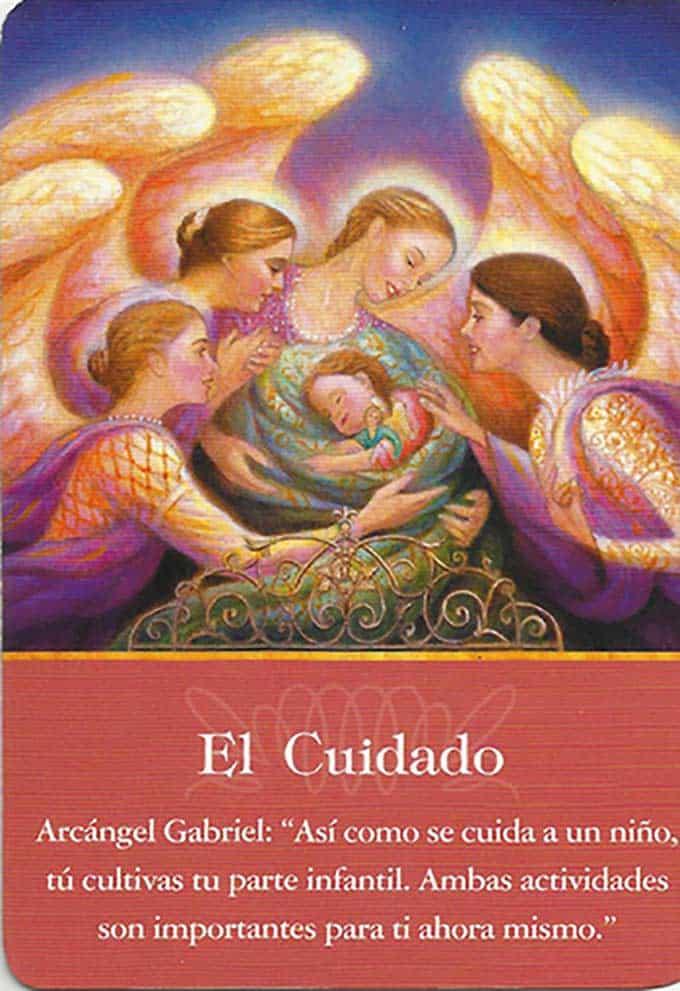 El cuidado del arcángel Gabriel