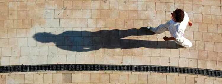 Mi sombra como dualidad de mi mismo