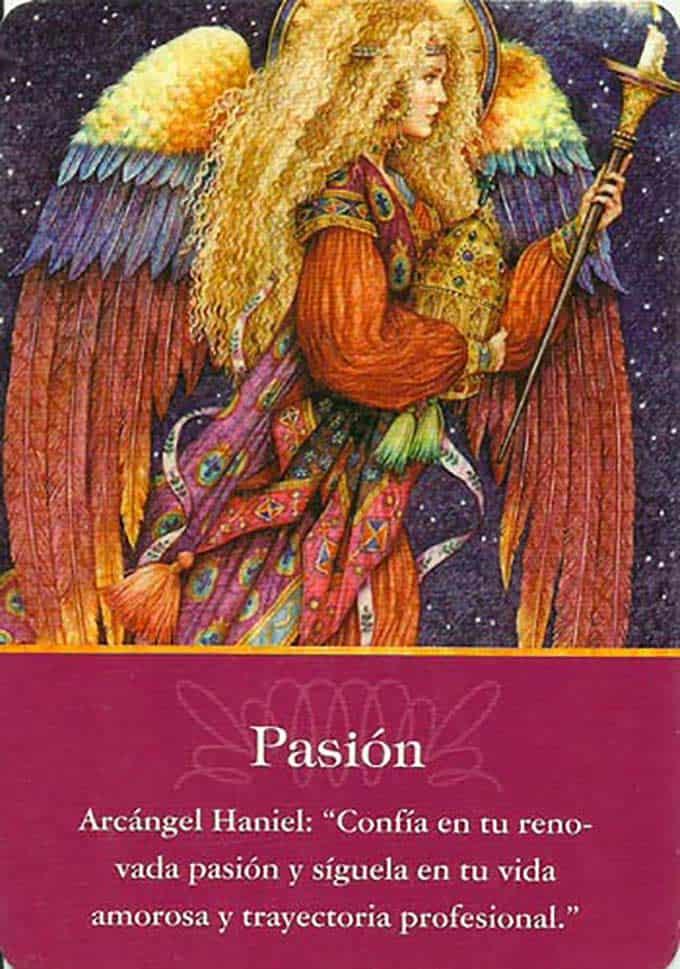 La pasión del arcángel Haniel