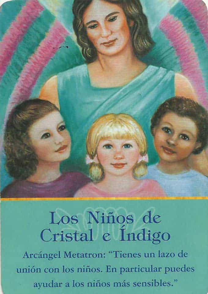 Niños de cristal e índigo del arcángel Metratrón