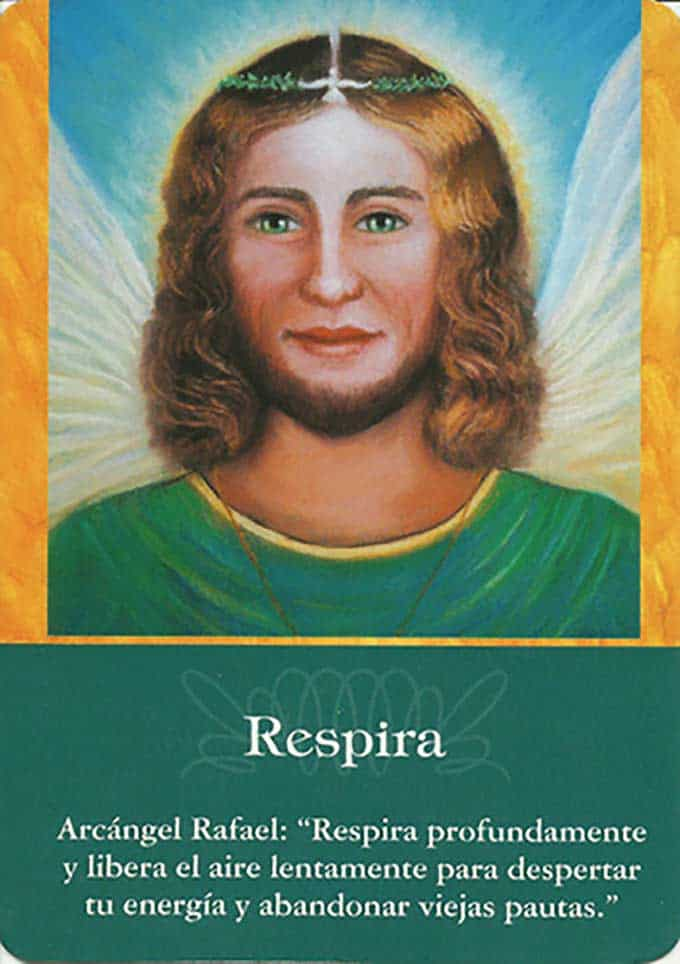 Respira con el arcángel Rafael