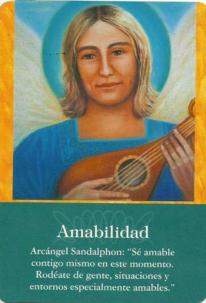 Arcángel Sandalphón – Amabilidad