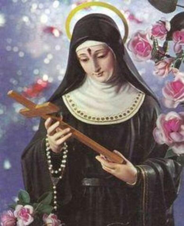 Santa Rita, imagen de la santa